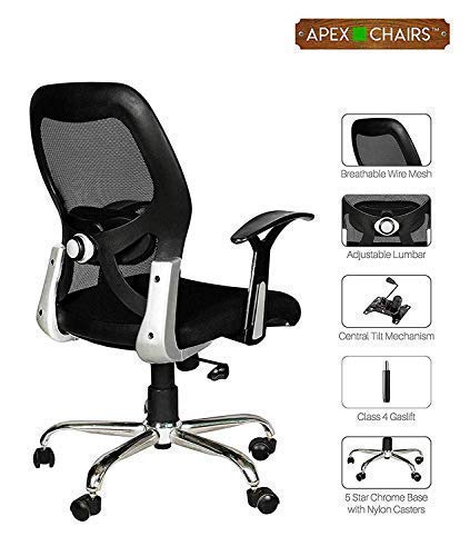 SAVYA HOME APEX Plastic Apollo Medium Chair