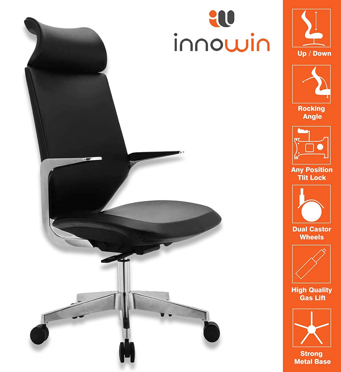 Innowin High Back Office Chair for CEO, Manager, Executive