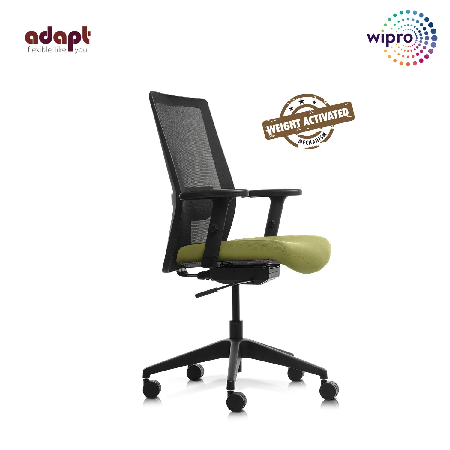 Wipro Furniture Adapt Medium Back Executive Ergonomic Office Chair