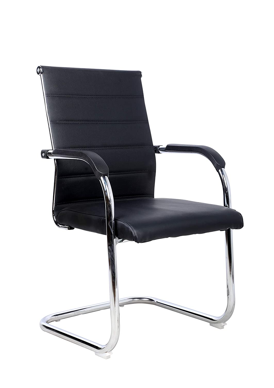 GTB BT-302 Octave Office Executive Visitor Chair in Black